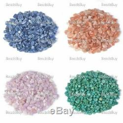 100 grams Small Tumbled Chips Crushed Stone Crystal Healing Embellishments