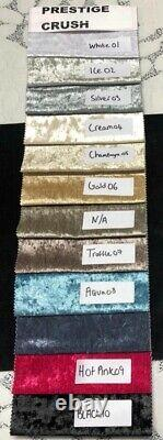 Crushed Velvet Super Florida Bed, Chesterfield Bed, Bed Frame in All Sizes