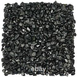 KYEYGWO 1 Pound Small Tumbled Chips Crushed Stone Healing Reiki Crystal for J